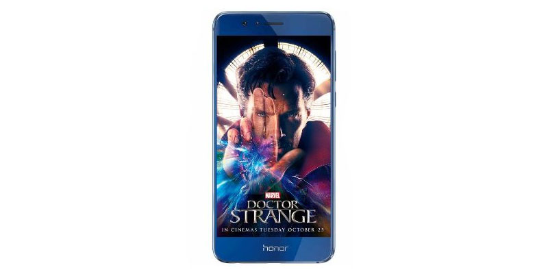 Huawei Joins Hands With Marvel To Launch Honor 8 Doctor Strange Limited Edition Smartphone.