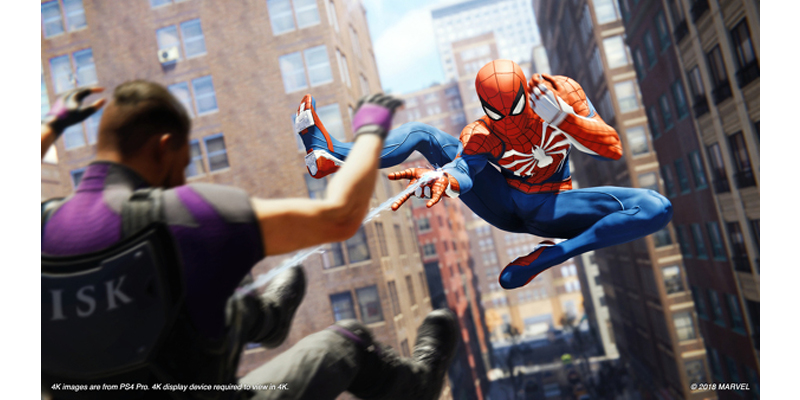 Spider-Man PS4 is UK's Fastest-Selling Game of 2018