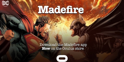Madefire Teases Its First Virtual Reality Comic.
