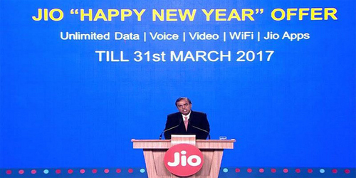 Welcome The New Year With The Reliance Happy New Year Offer.