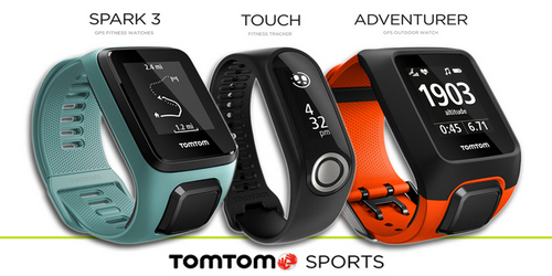 TomTom Launches Two Fitness Watches And One Fitness Band In India.