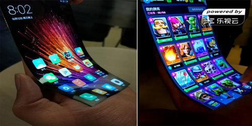 Another Phone With A Bendable Display, This One From Xiaomi.