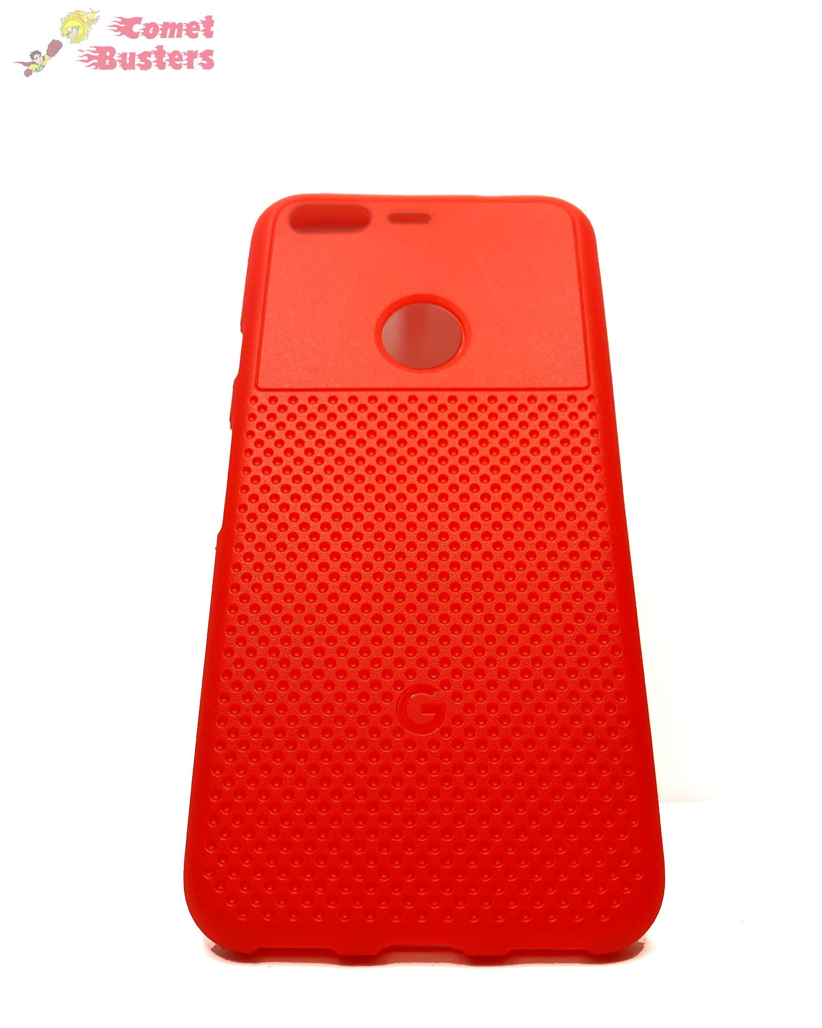 Google Pixel Soft Back Cover Case Red