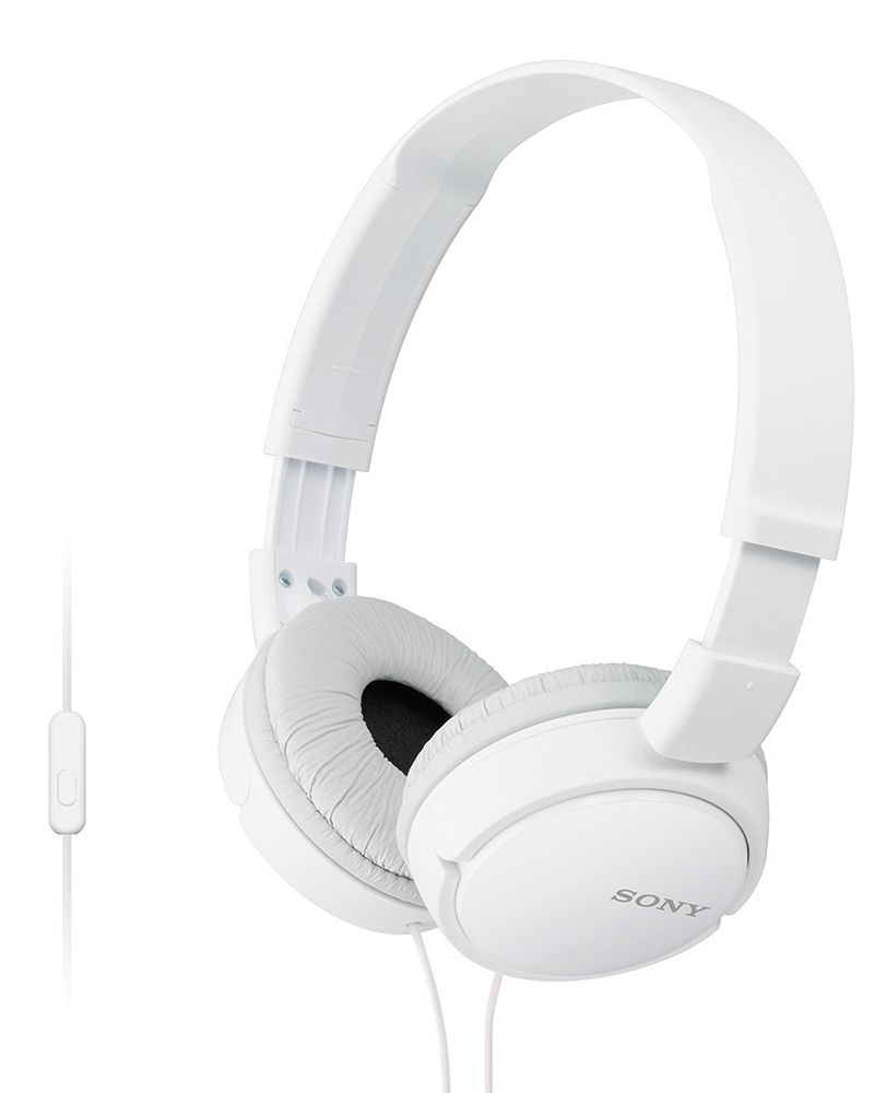 Sony MDR-ZX110AP | Headphones With Mic | White |