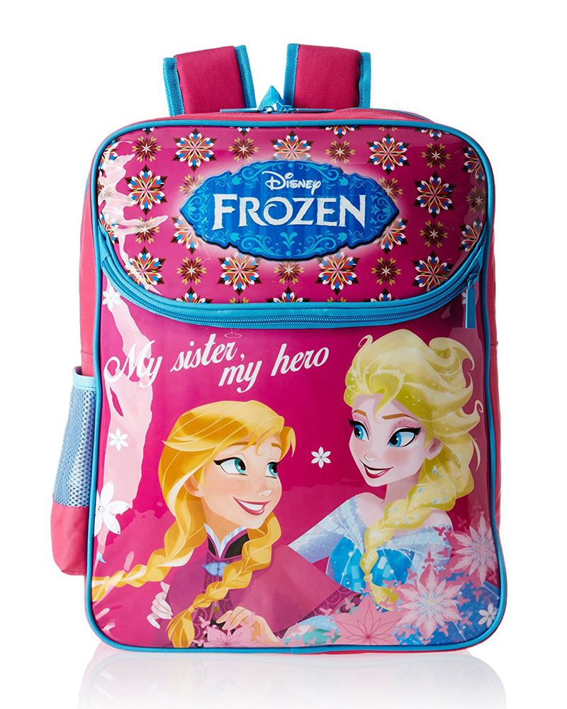 Frozen Blue and Pink Children's Bag (Age group :6-8 yrs)