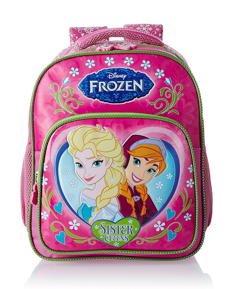 Frozen Pink and Green Children's Bag (Age group :3-5 yrs)