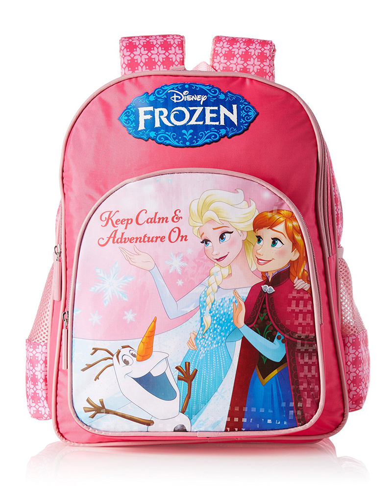 Frozen Polyester Multi-Color School Bag (Age group :3-5 yrs)
