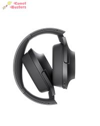 Sony MDR-100ABN DNC Headphones With Mic | Black