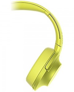 Sony MDR-100ABN | Wireless Headphones | Yellow