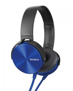Sony MDR-XB450AP | Headphones With Mic | Blue |