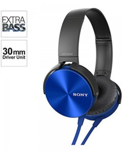 Sony MDR-XB450 | On-Ear Headphones | Blue |
