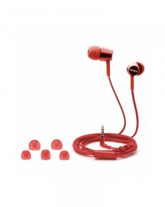 Sony MDR EX155 | In-Ear Headphones | Red |