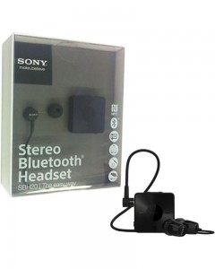 Sony SBH20 | Stereo Bluetooth Headset | Black