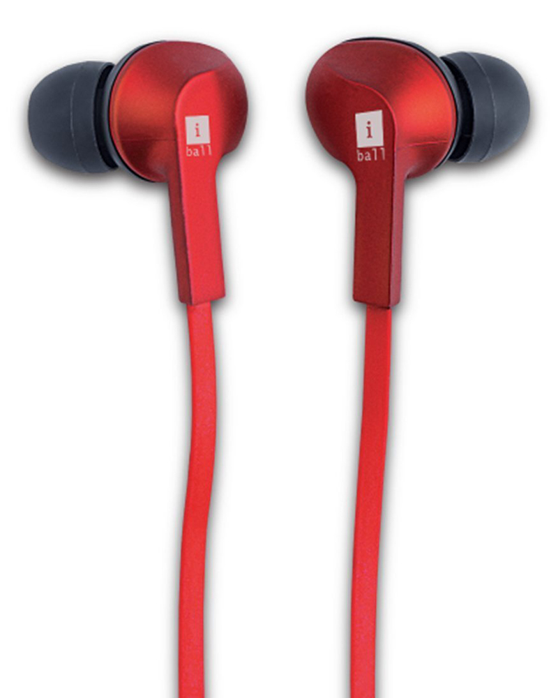 iBall Musi Gripper B9 | Bluetooth Headphones | Red |