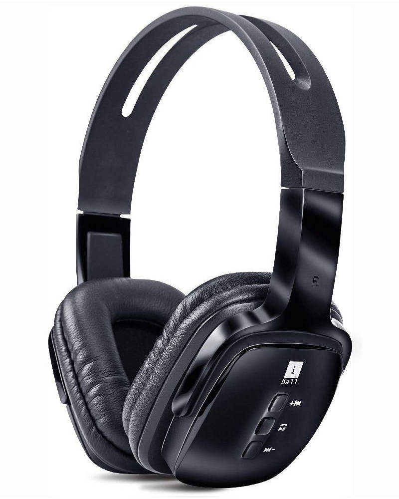 iBall Pulse BT4 | Headset With Mic | Black