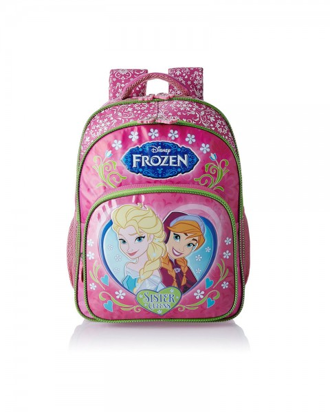 Frozen Pink and Green Children Backpack