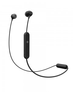 Sony WI-C300 Wireless In-Ear Headphones (Black)