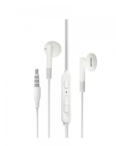 Portronics Conch Alpha POR-839 in-Ear Stereo Headphones (White)