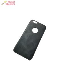 Apple iPhone 6 Back Cover Case | Black Leather