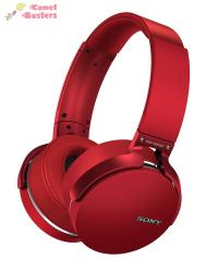 Sony MDR-XB950BT | Headphones With Mic | Red