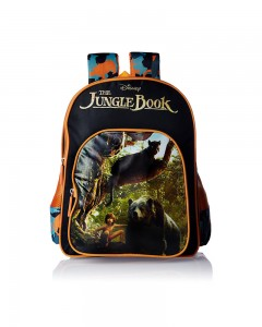 Jungle Book Polyester Multi Color School Bag