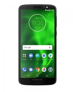 Moto G6 (Indigo Black, 64GB) (Refurbished) WITH BILL AND 6 MONTHS MANUFACTURER WARRANTY