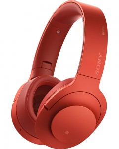 Sony MDR-100ABN | Wireless Headphones | Red
