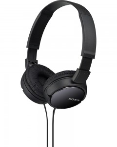 Sony MDR-ZX110 | Wired Headphones | Black |