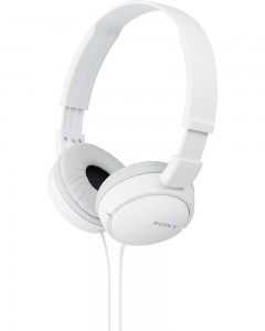 Sony MDR-ZX110 | Wired Headphones | White |