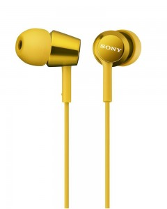 Sony MDR EX150 | In-Ear Haedphones | Yellow |