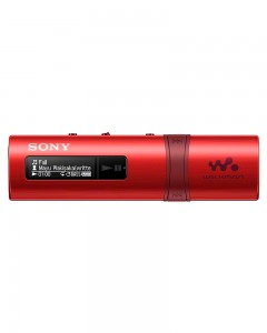Sony NWZ-B183 Walkman | 4GB | Music Player | Red |