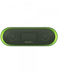 Sony SRS-XB20 Extra Bass Bluetooth Speaker | Green