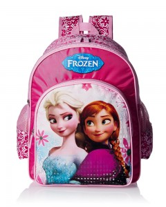 Frozen Polyester Pink School Bag (Age group :2-4 yrs)