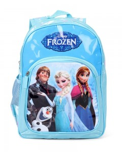 Frozen Polyester Blue School Bag (Age group :3-5 yrs)