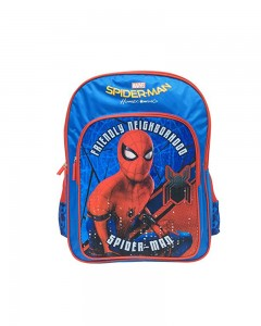 Marvel Spiderman Homecoming Spidy Print 14' ' School Bag (Blue, 20 L)