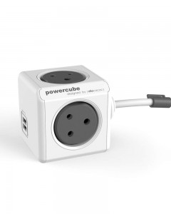 Allocacoc PowerCube Extended USB 3m Cable