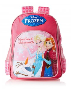 Frozen Polyester Multi Color School Bag (Age group :6-8 yrs)