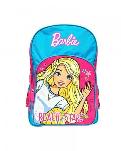 Barbie Reach To Stars 14' ' School Bag (Pink, Blue, 20 L)