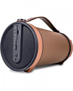 iBall Music Barrel BT31 |Bluetooth Speaker| Brown