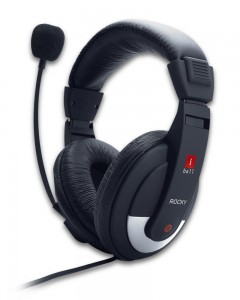 iBall Rocky | Over-Ear headphone | Black