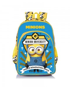 Despicable Me Minions Go Banana Blue 14' ' School Bag (Blue, 20 L)