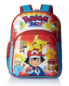 Pokemon Red and Blue Children Backpack