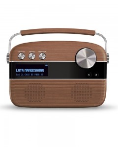 Saregama | Carvaan | Oakwood Brown