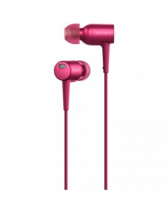 Sony MDR-EX750NA Earphones | Mic | Bordeaux Pink
