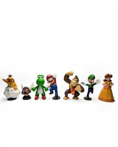Comet Busters Super Mario Set of Action Figure